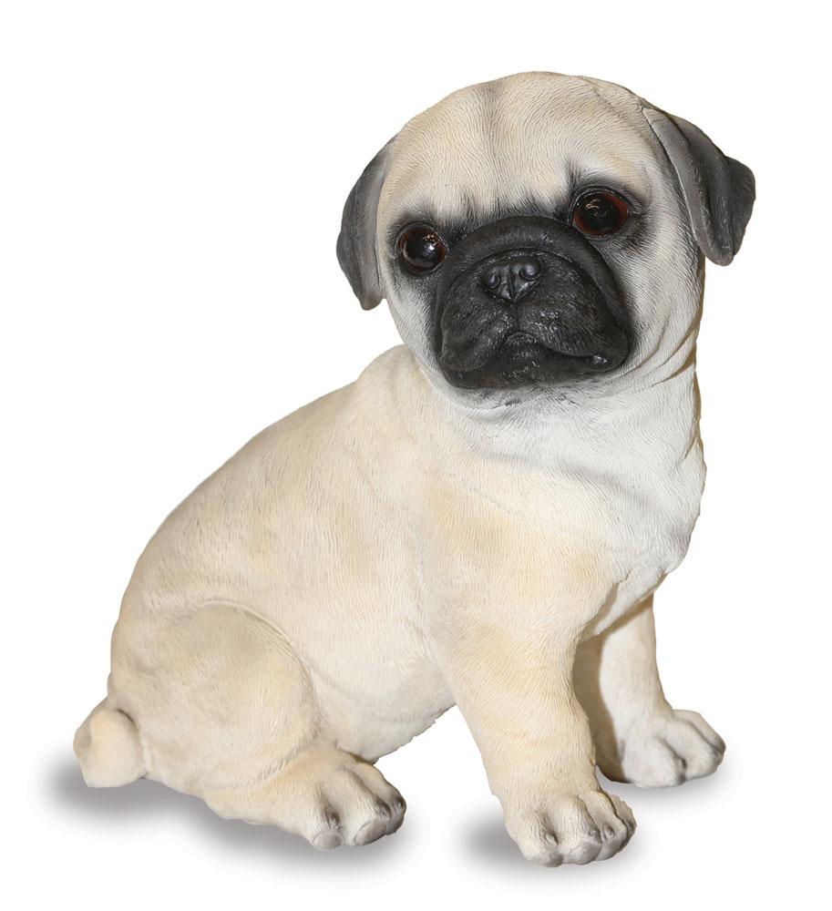 Pug Puppy Dog - Garden Ornament - UK Garden Products
